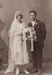 Photograph [Mick and Mary Johnston's Wedding Portrait]; Mora Studio, The (Gore); 1910-1930; MT2011.185.216