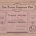 Book; Mataura Band of Hope, Junior Girls, Pledge Record; Band Of Hope; 1925-1939; MT2012.90.3