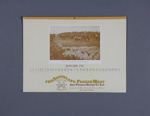 Calendar, Southland Frozen Meat Company; unknown maker; 1981; MT2012.107.9