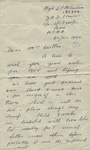 Letter, Major L.P. Molineux to Clara Quilter re her husband's war grave; 20.01.1945; MT2015.20.69