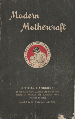 Book; Plunket Book entitled 'Modern Mothercraft'. ...