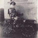 Photograph [Clown on Decorated Bicycle]; unknown photographer; 06.06.1953; MT2011.185.322