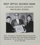 Photograph,  [Post Office Savings Bank Certificate, 1970]; unknown photographer; 03.07.1970; MT2011.185.443