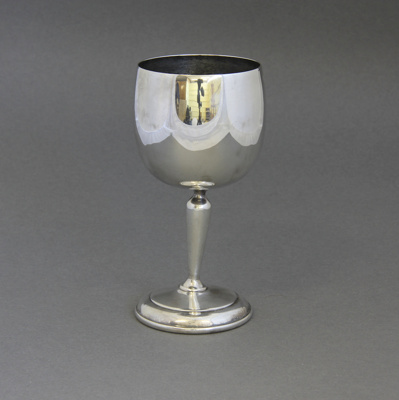 Goblet; this goblet was a gift from Southland Froz...