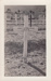 Photograph, Grave Cross, Lieutenant Thomas George Quilter; unknown photographer; 1943-1945; MT2015.20.54