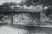 Photograph [Ewen Cameron diving off the Mataura Suspension Bridge]; unknown photographer; 1913; MT2011.185.159
