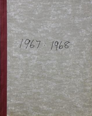 Rates Book, 1967 to 1968; Mataura Borough Council; 1967-1968; MT2000.166.2.9