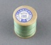 Sewing thread on spool, green cotton; Carriers; 1940-1950; MT2012.105.1