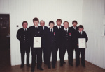 Photograph [Mataura Volunteer Fire Brigade]; unknown photographer; 1980s; MT2011.185.461