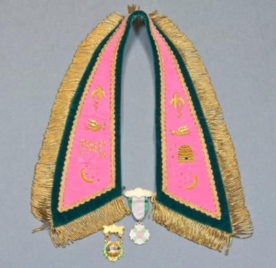 Lodge collar; unknown maker; 1970s; MT2015.16
