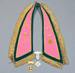 Lodge collar; unknown maker; 1970s; MT2015.16