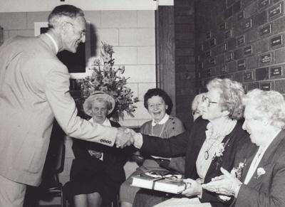 Photograph [Mataura Book Launch Celebration]; McKelvie, Ian; 1991; MT2011.185.329
