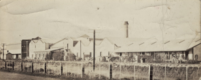 Photograph [Mataura Dairy Factory]; unknown photographer; 1920-1940; MT2011.185.76