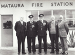 Photograph [Mataura Volunteer Fire Brigade]; unknown photographer; [?]; MT2011.185.463
