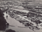 Photograph [1978 Flood, Aerial View of North Mataura]; Henderson, Keith Raymond; 1973; MT2017.18.6
