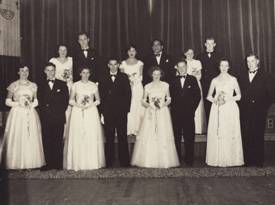 R.S.A Débutante Ball held in the Mataura Town Hal...