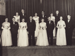 Photograph [R.S.A Débutante Ball, 1954]; unknown photographer; 04.06.1954; MT2017.19.1
