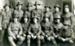 Postcard of New Zealand Soldiers at Camp Sling, W.W.I; Bennett M. Bulford & Durrington, Camp Studios; 1917; MT2018.3.5