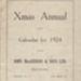 Calendar, John MacGibbon & Sons Limited; New Zealand Publishing Company Limited; 1924; MT2012.4.6