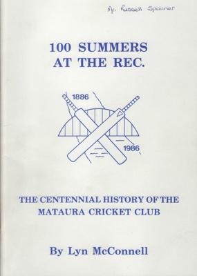 Book; '100 Summers At The Rec', a Centennial Histo...