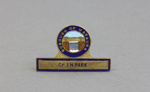 Badge, Mataura Borough Council; unknown maker; 1910s; MT2012.17.2
