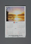 Calendar, Falls Service Station, Mataura; unknown maker; 1997; MT2012.108.7