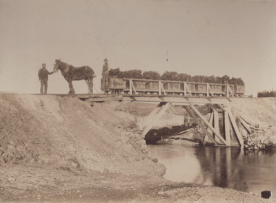 Photograph [Horse-Drawn Coal Wagons]; Blackley, Geo; 1897-1910; MT2011.185.74