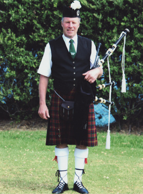 Photograph; a coloured photograph of piper Paul Br...