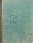 Rates Book, 1965 to 1966; Mataura Borough Council; 1965-1966; MT2000.166.2.8