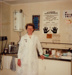 Photograph [Nurse Edna Patterson, Mataura Freezing Works]; Green,Trevor; 1978; MT2013.2.14