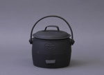 Pot, cast iron; Kenrick, Archibald & Sons; 1890-1920; MT1993.82.4