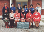 Photograph [Mataura Girl Guides, 50th Jubilee]; unknown photographer; 1978; MT2017.2.3