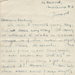 Letter; Clara Quilter to her husband Thomas G. Quilter [1 of 4]; Clara Catherine Quilter (nee McConnell); 08.06.1942 ; MT2015.20.23