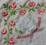 Handkerchief, World War One Souvenir; unknown maker; 1914-1918; MT2012.33.3