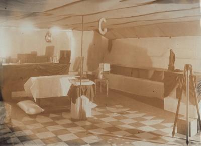 Photograph [Mataura's Grand Lodge Room, 1910]; Phillips Bros. (Invercargill); 1910; MT2011.185.364