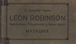 Album, postcard [Leon Robinson]; unknown photographer; 1932-1933; MT2012.5.7