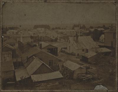 Photograph [Gardiner's Foundry, Mataura]; unknown photographer; 1880-1910; MT2011.185.114