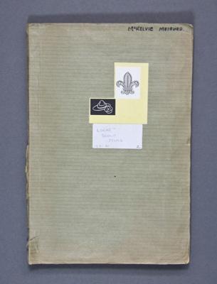 Scrapbook; (2 of 5) Scouting scrapbook (1951-1961)...