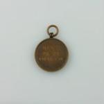 Medal, [Timaru Boys High School, Athletics, Hugh Brown McConnell]; unknown maker; 1925-1927; MT2015.22.12