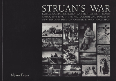 Book, record of Struan MacGibbon's World War Two s...