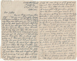 Letter, Driver Hugh McConnell to Master Geoffrey Quilter ; McConnell, Hugh Brown; 10.03.1945; MT2015.20.87