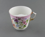 Cup, moustache ; unknown maker; 1880-1920; MT1993.65.5