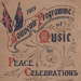 Souvenir Programme, 'Music for Peace Celebrations'; Whitcombe and Tombs.; 1919; MT2012.167