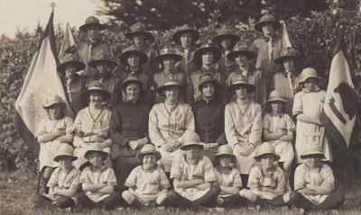 A black and white photograph of a group of Mataura...