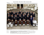 Photograph [Mataura Kilties Pipe Band 1996]; Clark Photography; 1999; MT2014.36.31