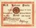 New Zealand Labour Party Bond, 1919; New Zealand Labour Party; 1919; MT2015.2.6