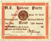 New Zealand Labour Party Bond, 1919; New Zealand Labour Party; 1919; MT2015.2.6