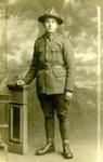 Postcard of Private John Gerald Hamilton.; unknown photographer; 1916-1918; MT2018.3.3