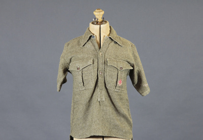 Scout Shirt; this shirt belonged to Ian McKelvie w...
