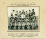 Photograph [Mataura Maori Club, Juniors]; unknown photographer; 1970; MT2013.25.1